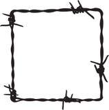 Het frame van Barbwire Royalty-vrije Stock Foto