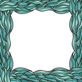 Het frame van bladeren Royalty-vrije Stock Foto's