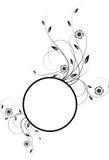 Het frame van bloemen Stock Afbeelding