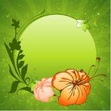 Het frame van bloemen Vector Illustratie