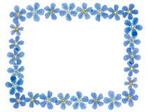 Het frame van bloemen royalty-vrije illustratie