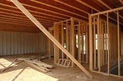 Het frame van bouw Stock Foto