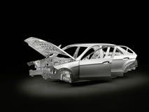 Het frame van de auto Stock Afbeeldingen