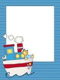 Het frame van de baby Stock Fotografie