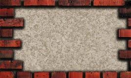 Het frame van de baksteen Stock Afbeelding