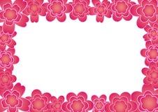 Het frame van de bloem Royalty-vrije Stock Foto