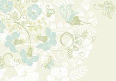 Het frame van de bloem royalty-vrije illustratie