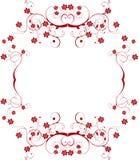 Het frame van de bloem Royalty-vrije Stock Foto's