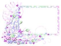 Het Frame van de Bloem van de lente Royalty-vrije Stock Foto's