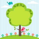 Het frame van de boom Stock Afbeeldingen