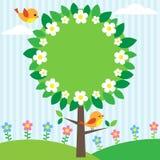 Het frame van de boom Stock Fotografie