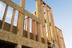 Het frame van de bouw Stock Foto