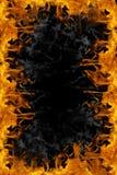Het frame van de brand Stock Fotografie
