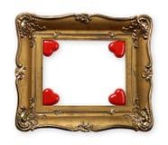 Het Frame van de Dag van valentijnskaarten royalty-vrije stock afbeeldingen