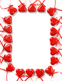 Het Frame van de Dag van valentijnskaarten royalty-vrije stock fotografie