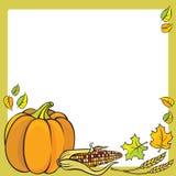 Het Frame van de dankzegging Stock Afbeelding