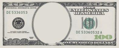 Het frame van de dollar Royalty-vrije Stock Foto