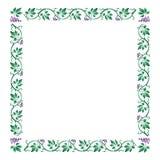 Het frame van de druif Royalty-vrije Stock Foto