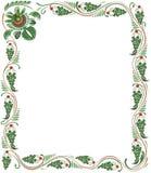 Het frame van de druif vector illustratie