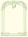 Het Frame van de duif Royalty-vrije Stock Foto