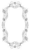 Het frame van de elegantie Royalty-vrije Stock Afbeelding