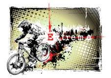 Het frame van de fiets royalty-vrije illustratie