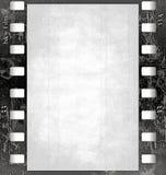 Het frame van de film (black&white) met textuur   Stock Foto's