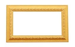 Het frame van de foto dat op wit wordt geïsoleerd Royalty-vrije Stock Foto's