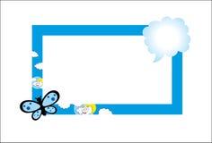 Het frame van de foto stock illustratie