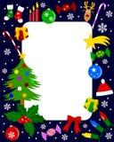 Het Frame van de foto - Kerstmis Royalty-vrije Stock Afbeeldingen