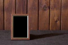 Het frame van de foto op lijst royalty-vrije stock afbeelding