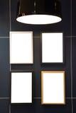Het frame van de foto op muur Royalty-vrije Stock Afbeelding