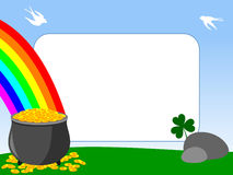 Het Frame van de foto - St. Patrick [1] Royalty-vrije Stock Fotografie