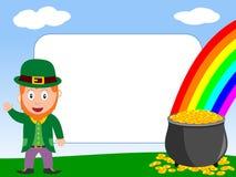 Het Frame van de foto - St. Patrick [2] royalty-vrije illustratie