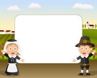 Het Frame van de Foto van de dankzegging [1] Stock Foto