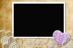 Het frame van de foto voor minnaars Royalty-vrije Stock Foto's