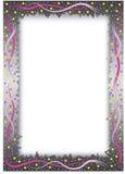 Het frame van de gradiënt met sterren Stock Foto's