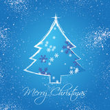 Het Frame van de Groeten van Kerstmis Royalty-vrije Stock Afbeeldingen