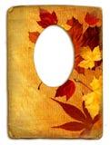 Het frame van de herfst Royalty-vrije Stock Foto