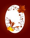 Het frame van de herfst Stock Foto's