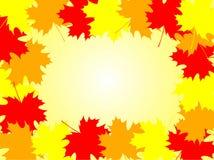 Het frame van de herfst Stock Afbeelding