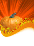 Het frame van de herfst met ruimte voor tekst. EPS 8 Stock Foto's