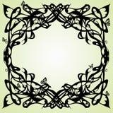 Het frame van de Jugendstil Royalty-vrije Stock Foto
