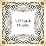 Het frame van de Jugendstil Stock Afbeelding