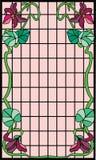 Het Frame van de Jugendstil vector illustratie