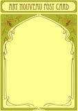 Het Frame van de Jugendstil met ruimte voor tekst Royalty-vrije Stock Foto