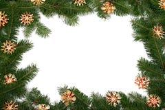Het frame van de kerstboom Royalty-vrije Stock Foto