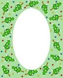 Het frame van de kerstboom royalty-vrije illustratie