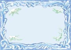 Het frame van de kerstkaart Royalty-vrije Stock Foto's