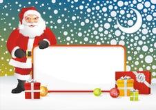 Het Frame van de Kerstman Royalty-vrije Stock Foto's